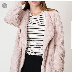 [Hyfve] soft faux fur coat L